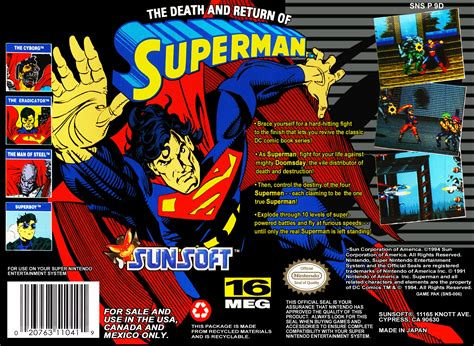 The Death and Return of Superman Details - LaunchBox Games