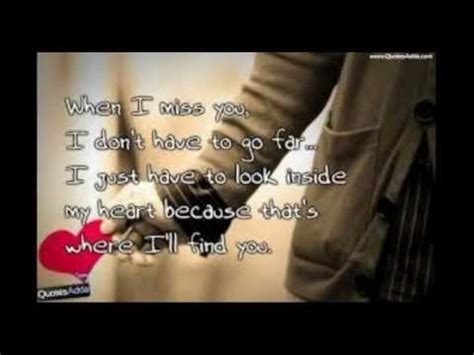 i wanna grow old with you//i miss you quotes - YouTube