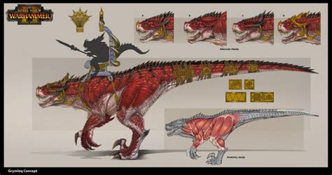 Faction concept art from Total War: Warhammer 2 released