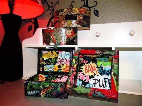 Felt Lined Super Hero Stash Box · How To Make A Wooden Box