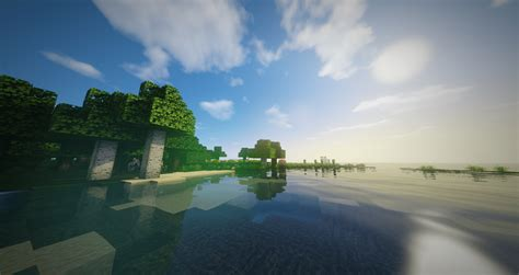 Minecraft Wallpapers with Shaders by RuxPlay (8) - Rux