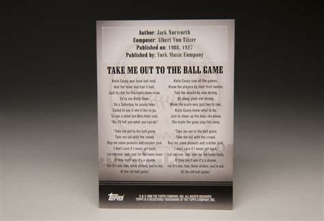 #Popups: Baseball's greatest hit is 'Take Me Out to the