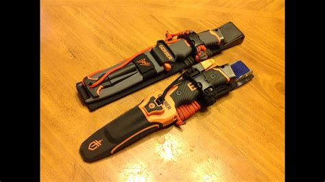 Gerber Bear Grylls Ultimate and Pro Knife Upgrades - YouTube