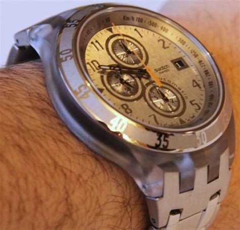 Swatch Automatic Chrono Watch Review   aBlogtoWatch