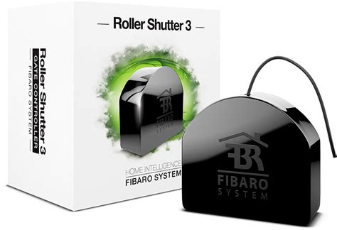Roller Shutter 3 - motorized shades and blinds   FIBARO