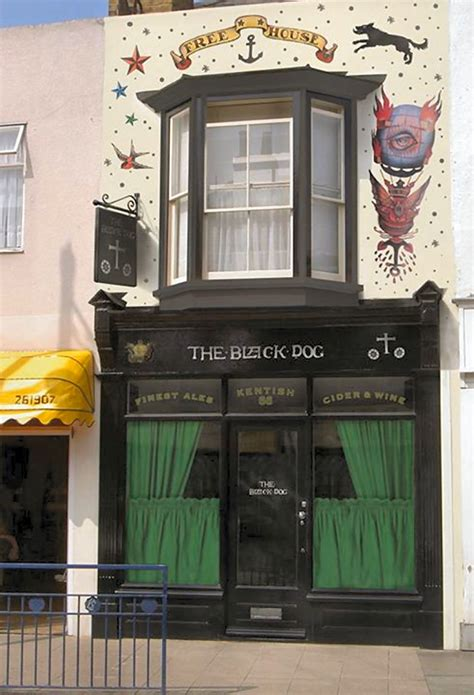 BLACK DOG Pubs of Whitstable