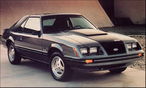 Timeline: 1983 Mustang - The Mustang Source