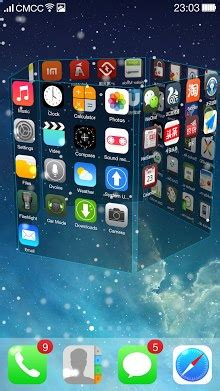 Download IOS 7 3D Launcher   APK Download For Android