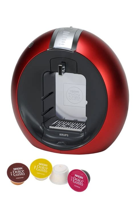 Expresso Krups NESCAFE DOLCE GUSTO CIRCOLO ROUGE YY6002FD