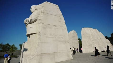 Controversial MLK Memorial inscription to be removed - CNN