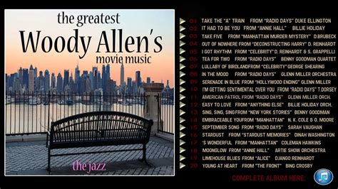 The Greatest Woody Allen's Movie Music - YouTube