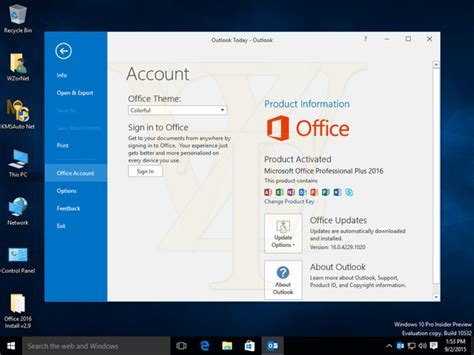 KMSpico – Best Windows 10 and Office 16 Activator v10
