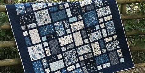 Rich Blues are so Lovely in This Easy Quilt - Quilting Digest