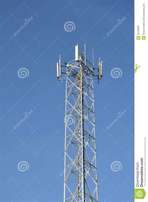 Bts Tower Stock Image - Image: 32180061