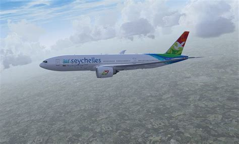 Air Seychelles Boeing 777-200LR (New Colors) for FSX