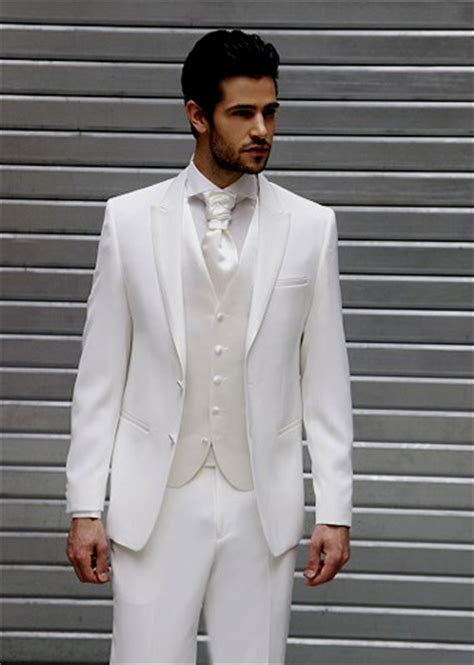 Costume blanc homme mariage - Le mariage