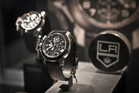 Graham Chronofighter Oversize LA Kings timepiece debuts at