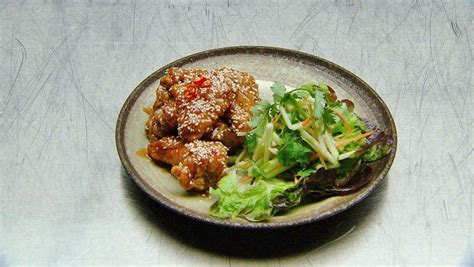Sweet and Sour Chicken Wings with Fusion Salad | Recipe in