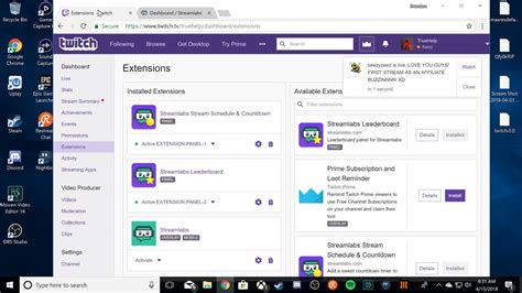 Nightbot Tutorial & Streamlabs Point System (Twitch Panel