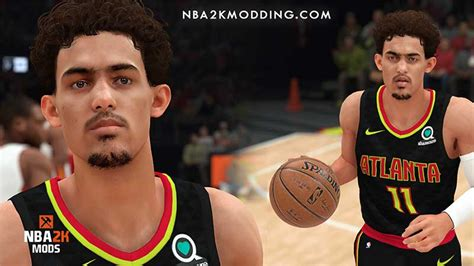 NBA 2K19 Trae Young Cyberface by Mr