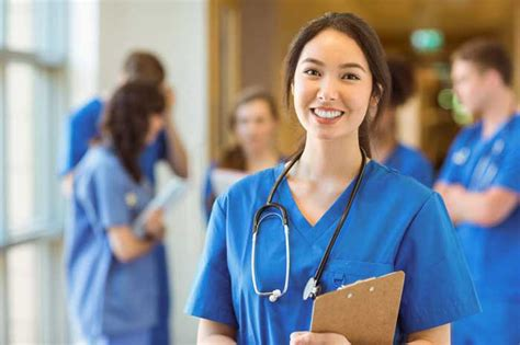 Female Medical Student Looking Forward to Graduating and