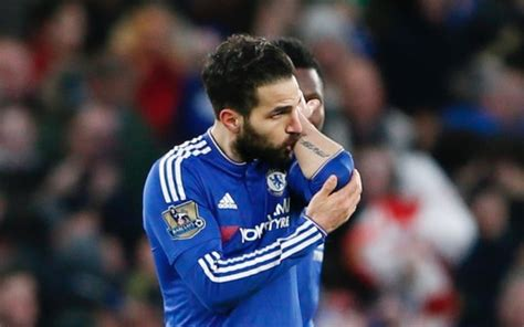 Chanting Chelsea fans go mad for Cesc Fabregas after