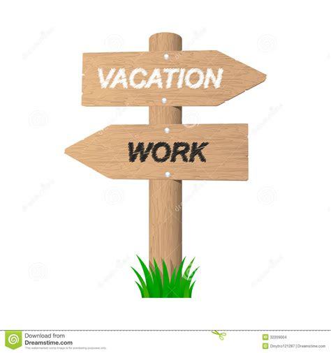 Vacation Wooden Sign