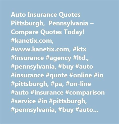 Insurance quotes pa - insurance