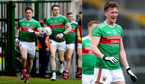 Lee Keegan Returns As Mayo Announce Starting XV For Kerry