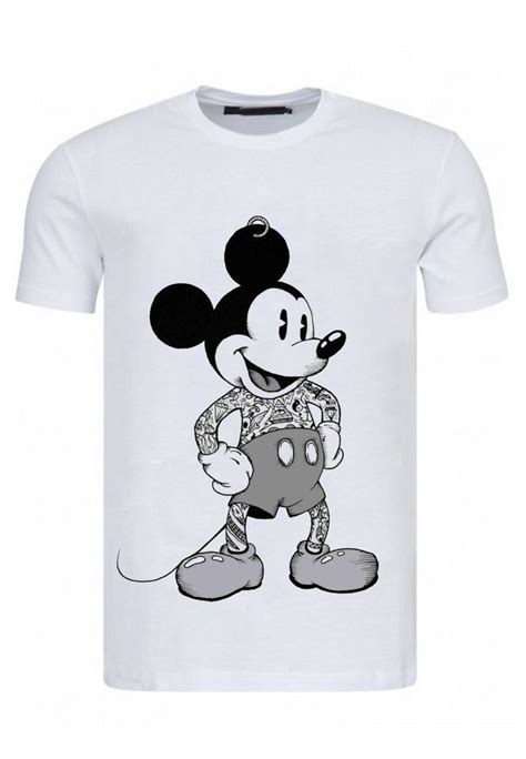 MICKEY MOUSE TATTOO T-SHIRT