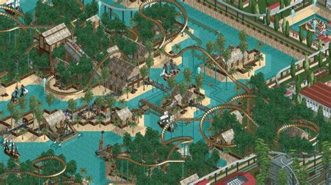 Someone spent a decade building this RollerCoaster Tycoon
