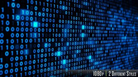 Binary Code on a Computer Screen by butlerm | VideoHive