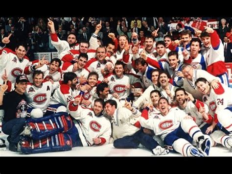 Montreal Canadiens win 1993 Stanley Cup - YouTube