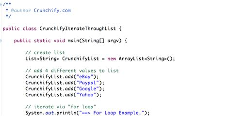 How to iterate through Java List? Five (5) ways to Iterate