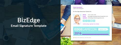 BizEdge Email Signature Template