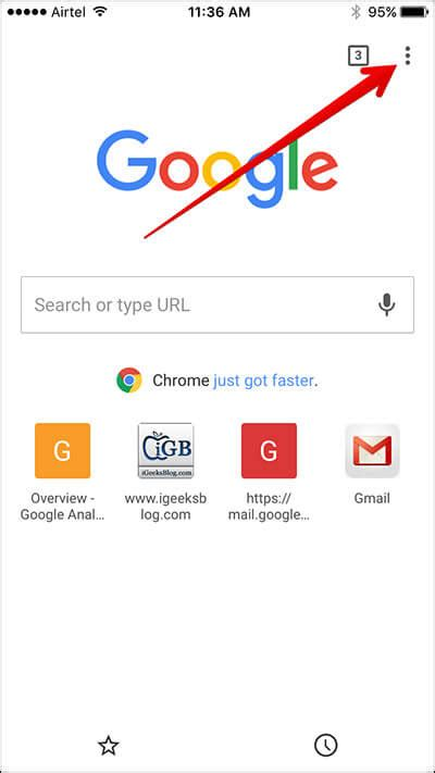 How To Clear Chrome Browser History/Cache on iPhone and iPad