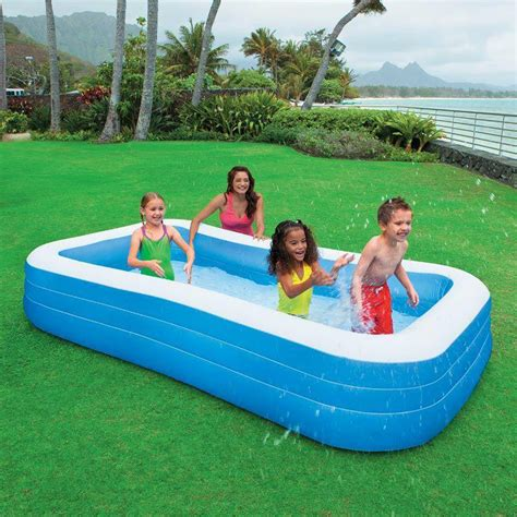 Piscine gonflable Family (rectangle) Intex - Achat Vente