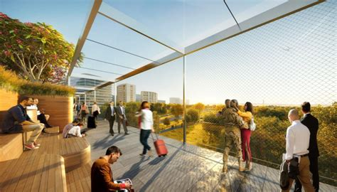 Crystal City could be getting a flashy pedestrian bridge