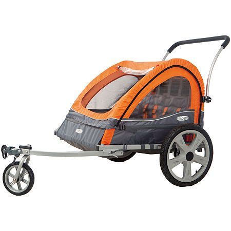 InStep Quick N EZ Double Bicycle Trailer   Bicycle, Baby