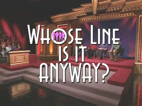 Whose Line is it Anyway?   Game Shows Wiki   Fandom