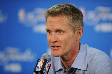 Steve Kerr speaks out for social justice, in support of