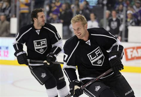 Reunited Jeff Carter and Mike Richards loving life with