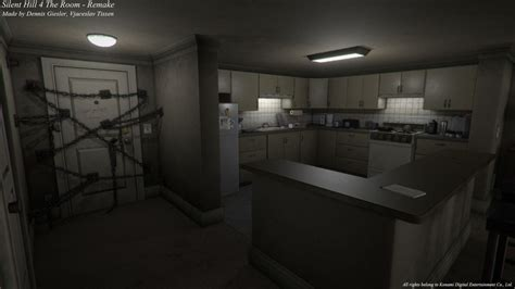 Silent Hill 4's creepy apartment recreated in Unity | PC Gamer