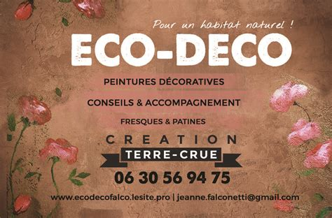 Accompagnement / Formation/Recettes – Eco Déco Falco