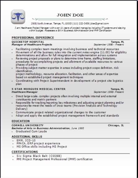 Medical Professional Resume, Occupational:examples,samples
