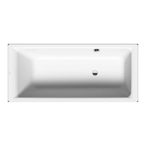Kaldewei Puro 1600mm x 700mm Single Ended Bath with Side