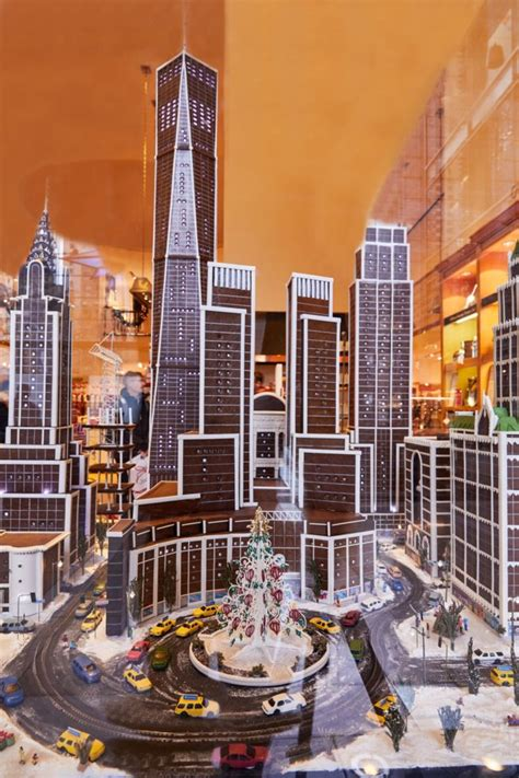 Gingerbread City: Hyper-Detailed Edible Replica of New
