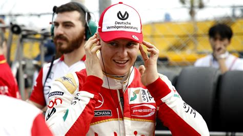 Mick Schumacher to compete in F2 with Prema Racing in 2019