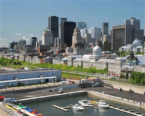 Montreal Old Port - Montreal Waterfront - Saint Lawrence