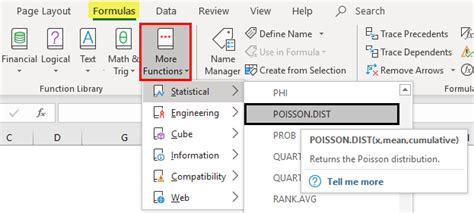 Poisson Distribution in Excel   How to Use Poisson